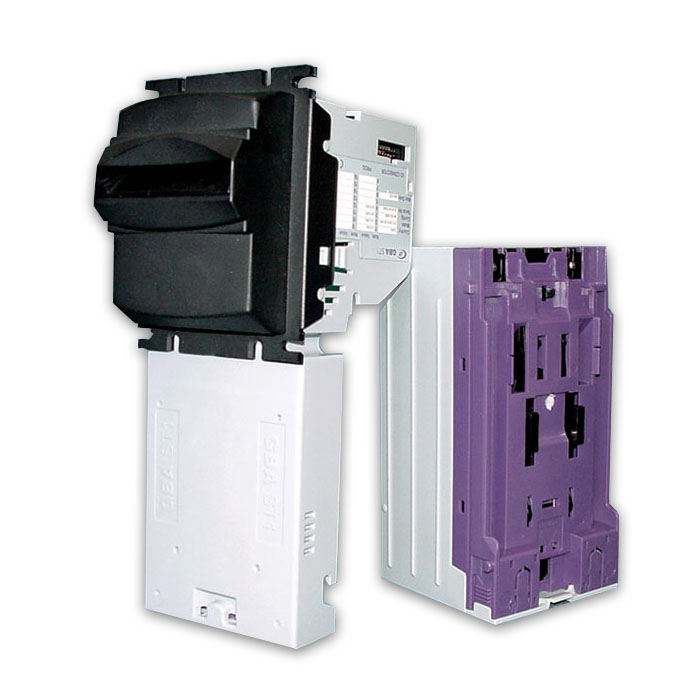 GBA ST1 bill acceptor, validator upstacker with locks