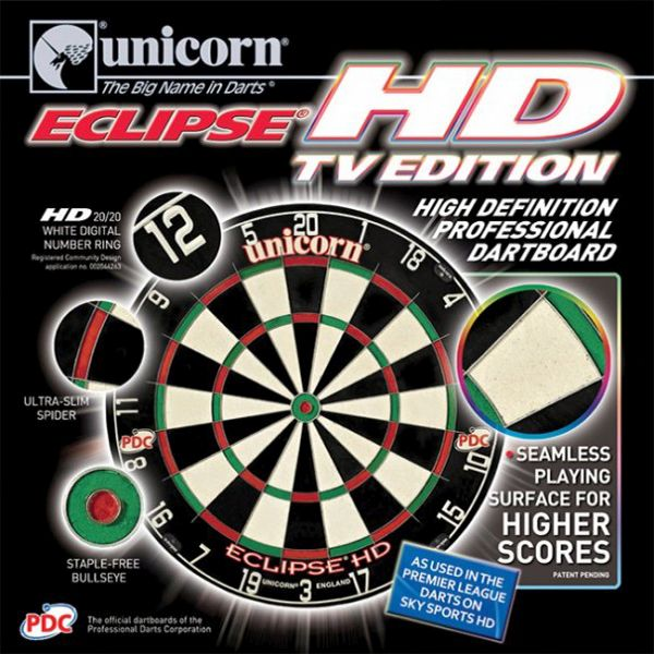 Dart tábla Unicorn Eclipse HD, PDC, TV edition