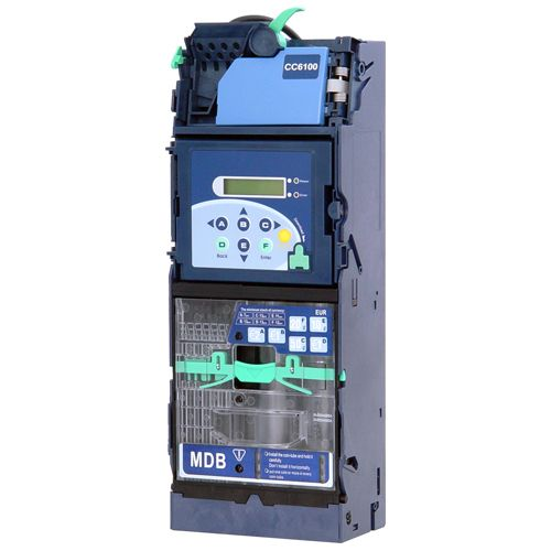 CC6100 coin acceptor with 6 tube changer