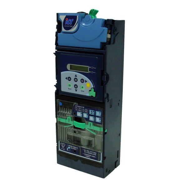 ICT CC6000 coin acceptor with 6 tube changer
