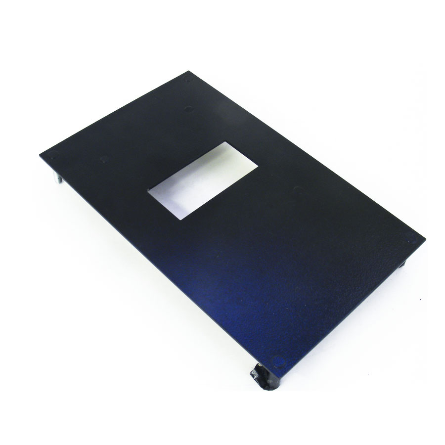 Metal bezel for ICT P70 bill acceptor, without frame