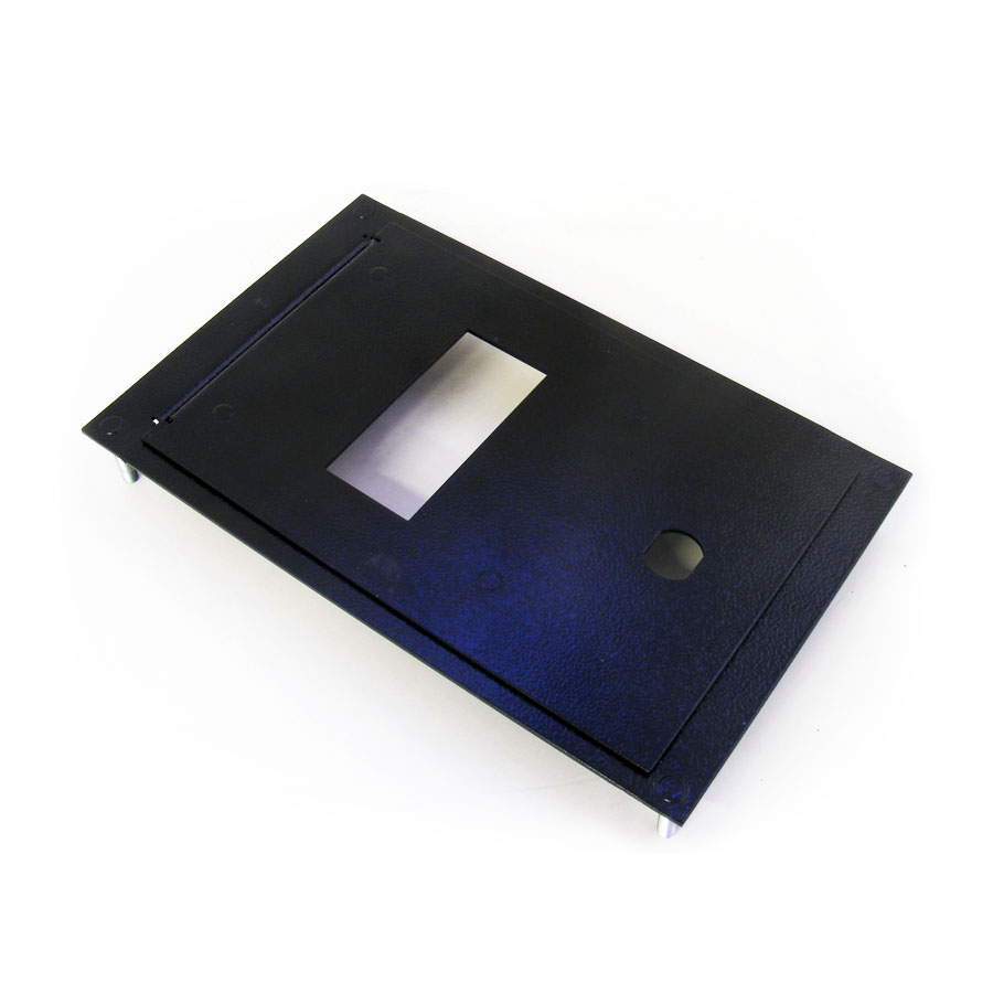 Metal bezel for P70  bill acceptor, with frame